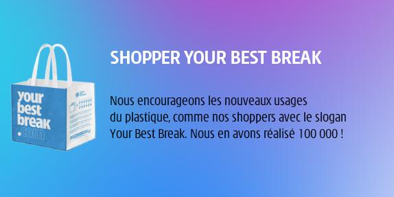 IVS France recyle le plastique utilisé sous forme de shopper bags